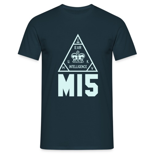 MI5 seal - Men's T-Shirt
