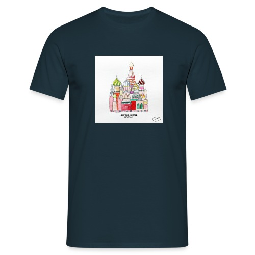 saint basil cathedral moscow - T-shirt Homme
