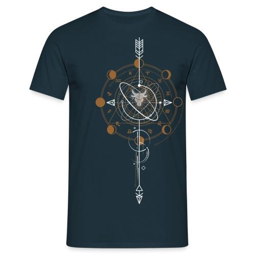 GEOMETRIC TAUREAU - T-shirt Homme