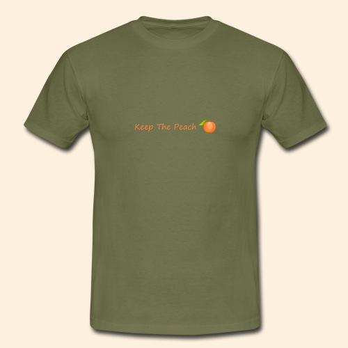 Keep the peach with sweet peach - T-shirt Homme