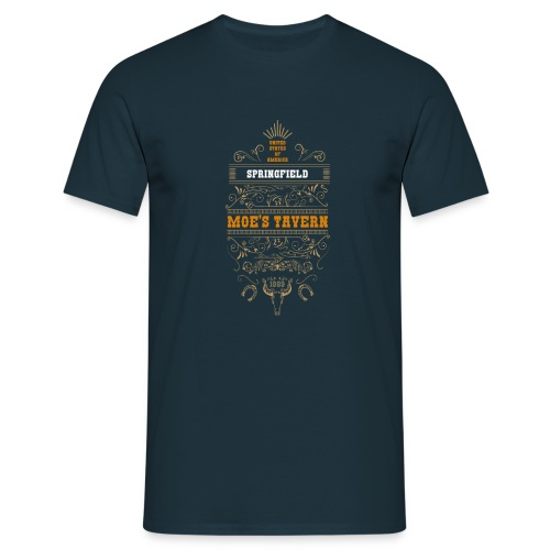 Springfield Moe's Tavern - Koszulka męska