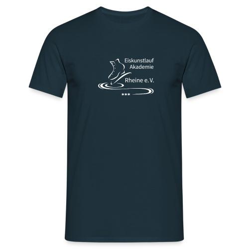 EARheine Logo weiss - Männer T-Shirt