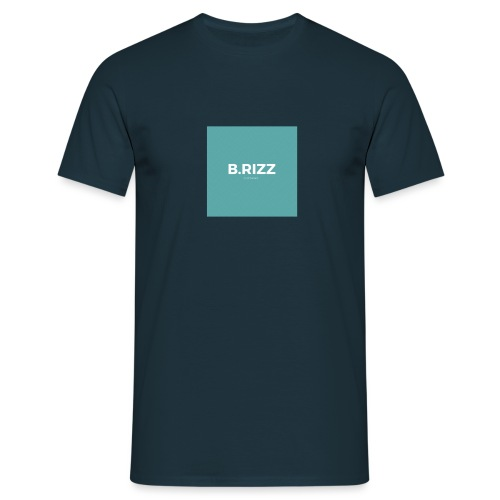 Brizzclothing green white tee - Men's T-Shirt