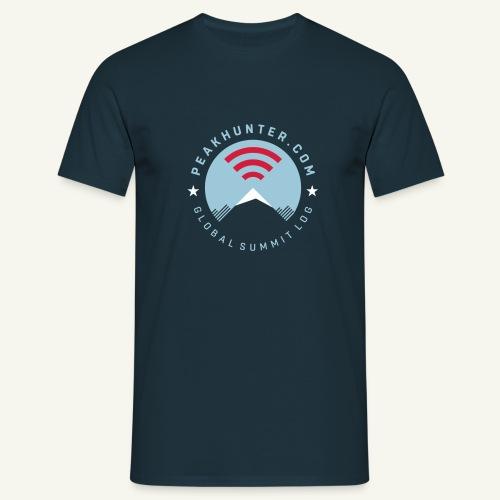 Peakhunter Global Summit Log - Männer T-Shirt