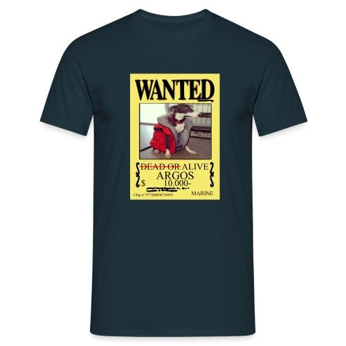 #dóndeestáargos ARGOS ver.wanted - Camiseta hombre
