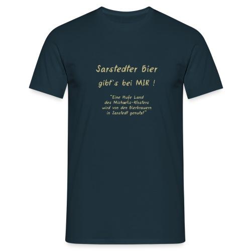 Shirt-Sarstedter Bier - Männer T-Shirt