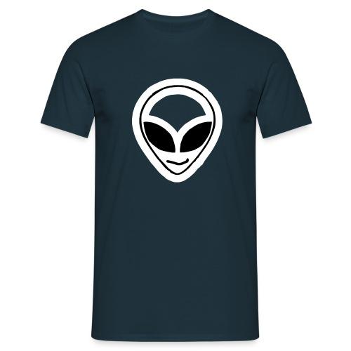 Alien mask - Men's T-Shirt