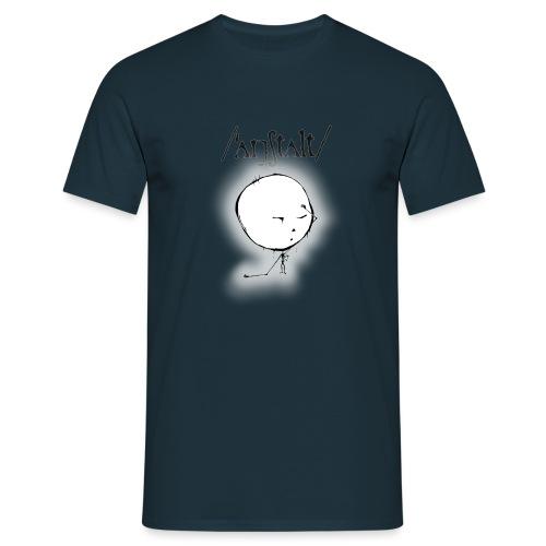 kreisling mit logo (schwarz) - Männer T-Shirt