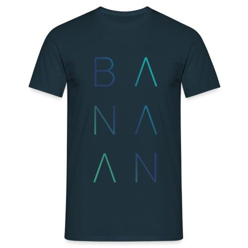 BANAAN 02 - Mannen T-shirt
