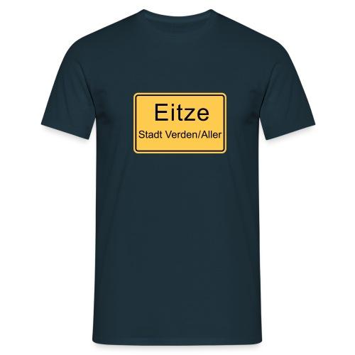 Ortsschild - Männer T-Shirt
