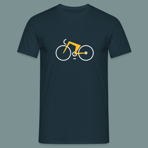 Bikes against cancer - Herre-T-shirt