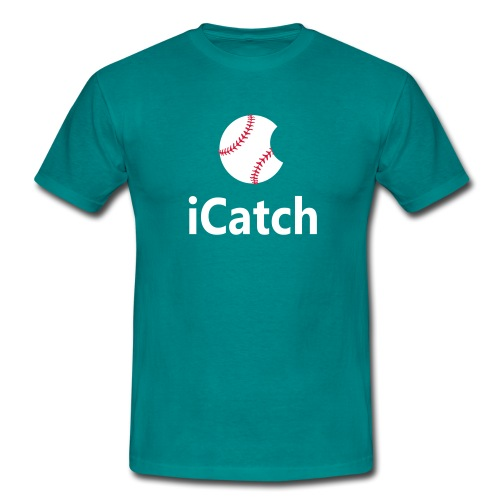 Baseball Logo iCatch - Men's T-Shirt