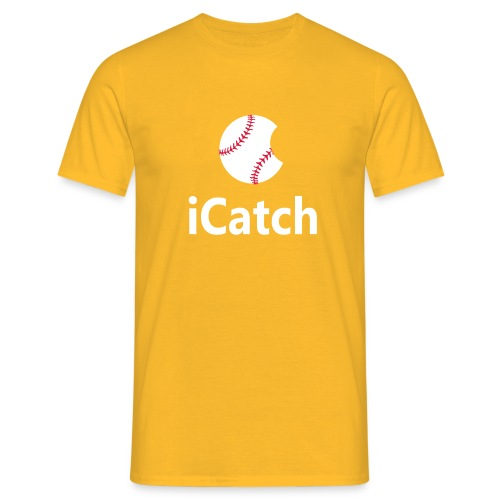 Baseball Logo iCatch - Men's T-Shirt