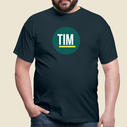 TIM-Logo-rund - Männer T-Shirt