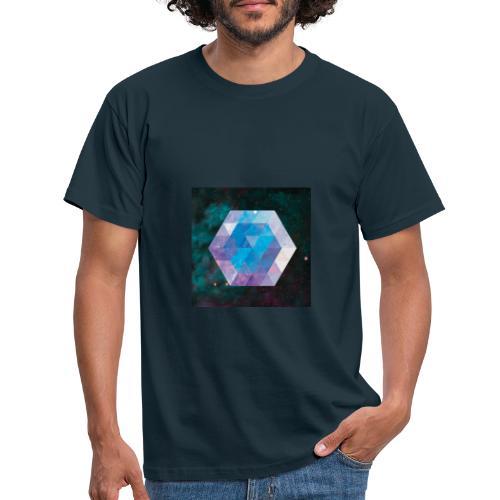 Galaxie hexagone - T-shirt Homme