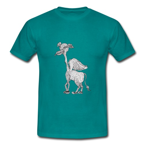 Pleitegeier - ein Fabelwesen der besonderen Art - Männer T-Shirt
