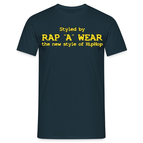 RAP A WEAR Logo - Männer T-Shirt