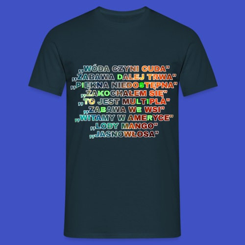 Piosenki Dis Koliber - Koszulka męska