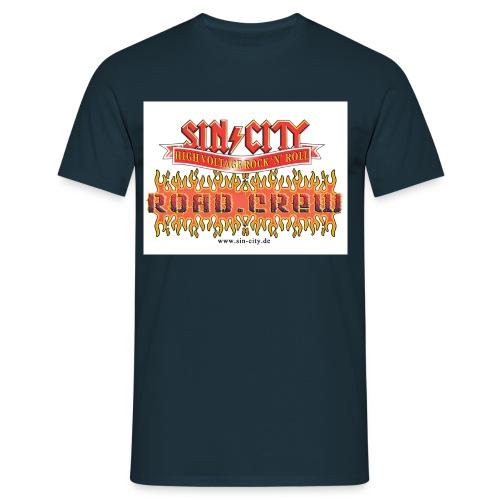 pos roadcrew - Männer T-Shirt
