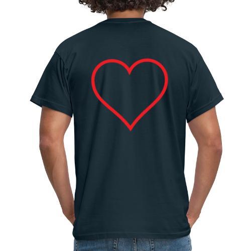 Blåsut Valentine shirt - T-shirt herr
