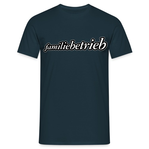 FAMILIEBETRIEB 2 farbig big - Männer T-Shirt
