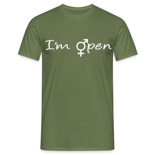 im open - T-shirt Homme