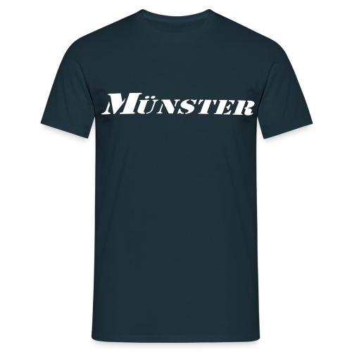 Münster Schriftzug - Männer T-Shirt