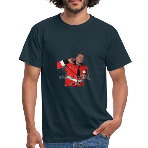Sievi mit RR-Manschette SO'N BLUTDRUCK, DOOO! - Männer T-Shirt