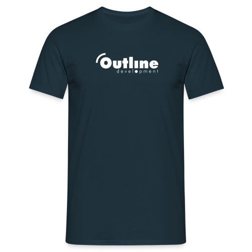 outline logo simple - Männer T-Shirt