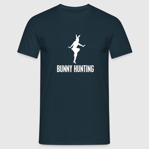 BUNNY HUNTING WHITE - Herre-T-shirt