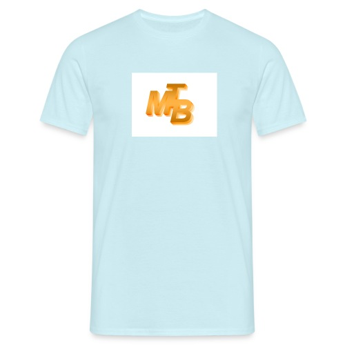 mtb logo gold - Männer T-Shirt