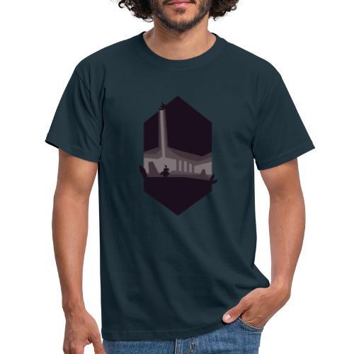 Cave Silhouette - T-skjorte for menn