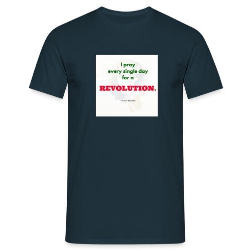 Revolution - Männer T-Shirt