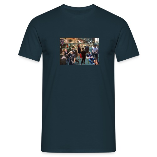sweeps out and about - Men's T-Shirt