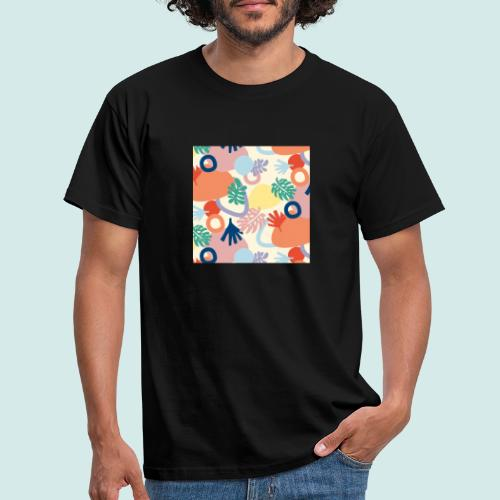 Urban leaves - Männer T-Shirt