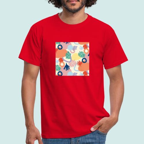 Urban leaves - Männer T-Shirt