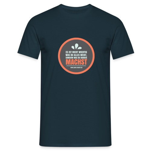 Wissen mit Name - Männer T-Shirt