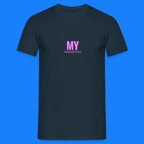 MYNAMESPEter - Men's T-Shirt