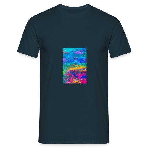 28964599 Fond d art abstr - T-shirt Homme
