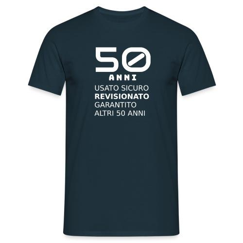50 anni usato sicuro - Maglietta da uomo