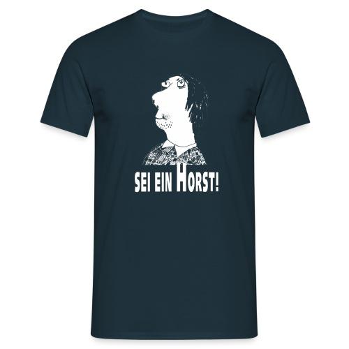 horst bild weiss - Männer T-Shirt