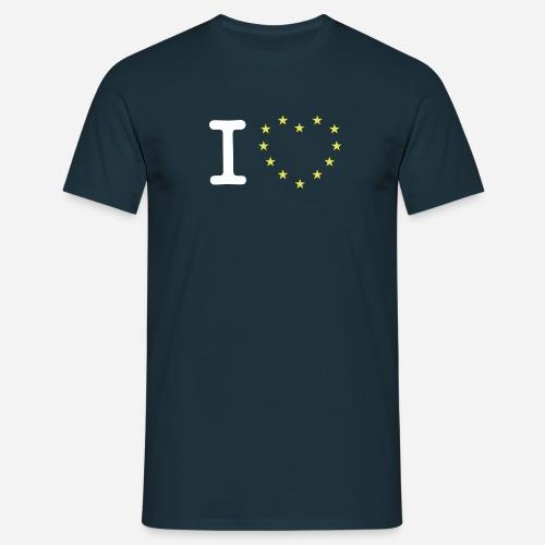 I heart stars - Herre-T-shirt