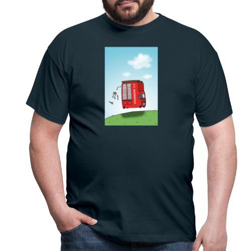 Feuerwehrwagen - Männer T-Shirt