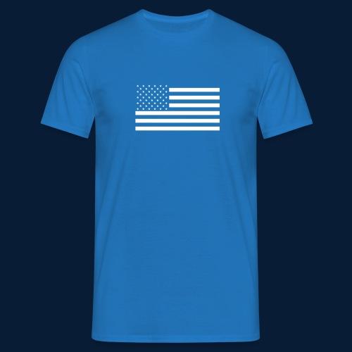 Stars and Stripes White - Männer T-Shirt