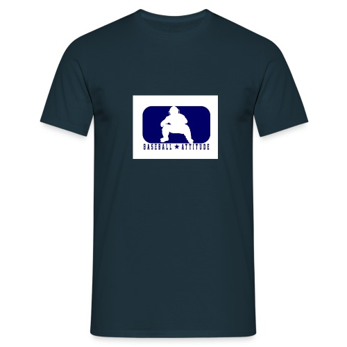 BA catcher blue.jpg - T-shirt Homme