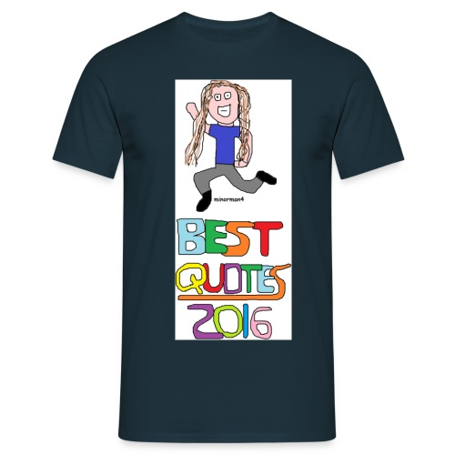 best quotes verticles 345 - Men's T-Shirt