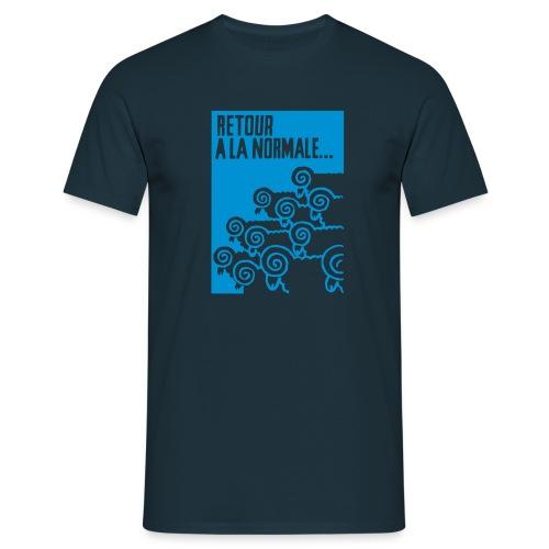 retour_à_la_normale_retu - T-shirt herr