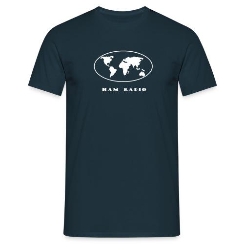 Welt HAM Radio - Männer T-Shirt