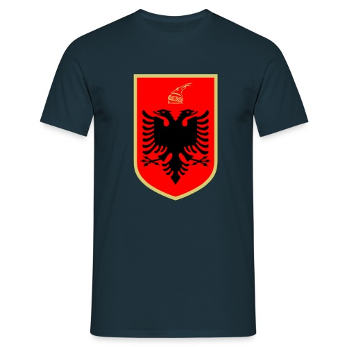 Coat of arms of Albanien - Männer T-Shirt