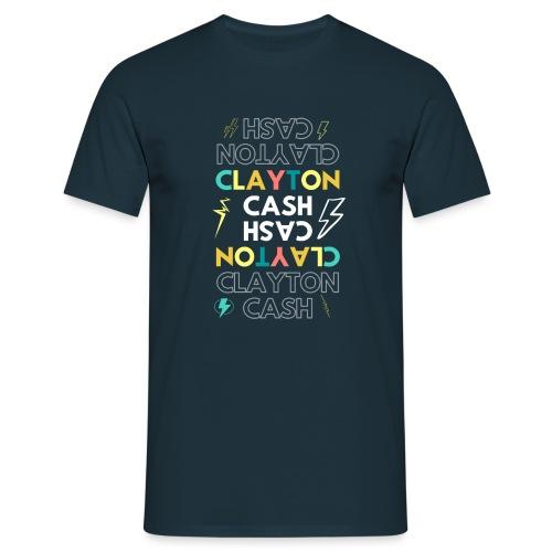 CASH UPSIDE DOWN - Mannen T-shirt